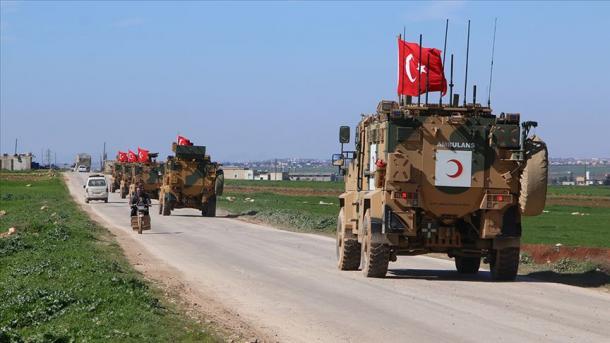 Vazhdojnë patrullimet e ushtrisë turke në Tel Rifat të Sirisë   TRT  Shqip