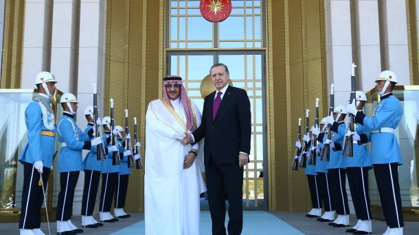 Erdogan se sastao sa saudijskim princom Al Suudom