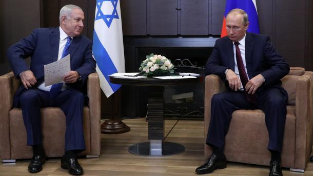 Regardez Netanyahu, tendu et vague, après sa rencontre avec Putin — Vidéo