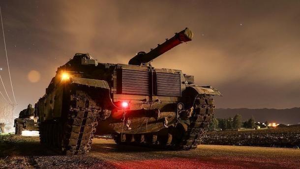 Operacioni 'Dega e Ullirit'-Ushtria turke asgjëson 198 objektiva në Afrin | TRT  Shqip