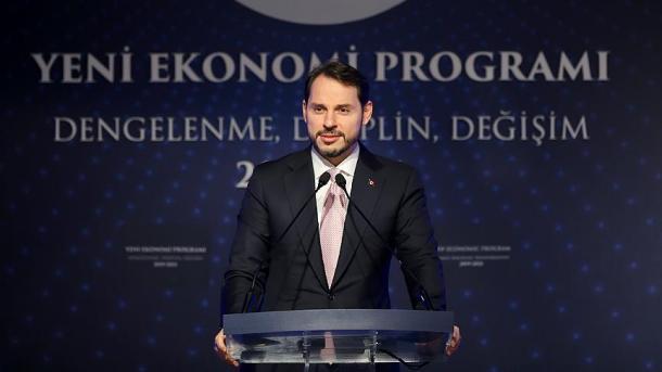 Ministri Albayrak publikoi objektivat e Programit të Ri Ekonomik | TRT  Shqip