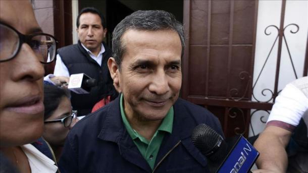 Expresidente Ollanta Humala y su mujer salen de prisión en Perú