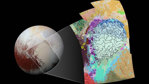 Planeti i Plutonit i pasur me metan të ngrirë | TRT Shqip