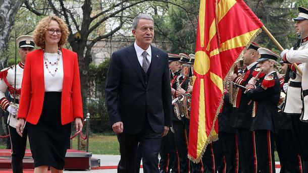 Akar: Dëshirojmë që Maqedonia e Veriut të forcojë lidhjet me NATO-n   TRT  Shqip