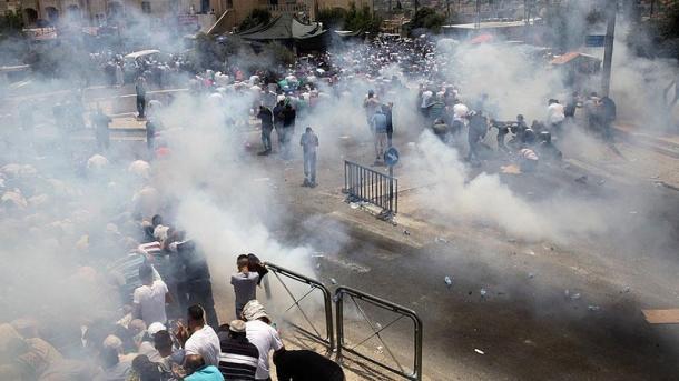 ВИерусалиме врезультате столкновений погибли трое палестинцев