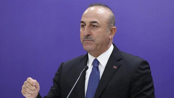 Çavusoglu reagon ndaj dekretit të Macron për '24 prillin' | TRT  Shqip