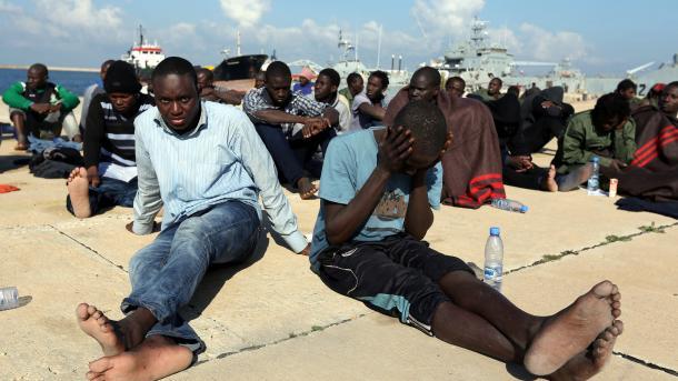 Уберегов Ливии пропали без вести около 100 мигрантов