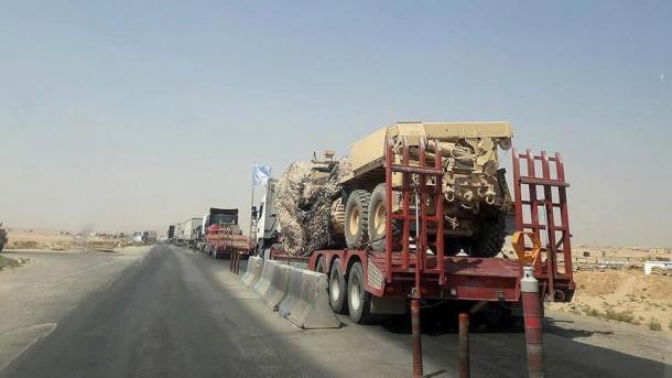 Siri - ShBA dërgon ndihma të tjera ushtarake në rajonin e pushtuar nga YPG/PKK | TRT  Shqip