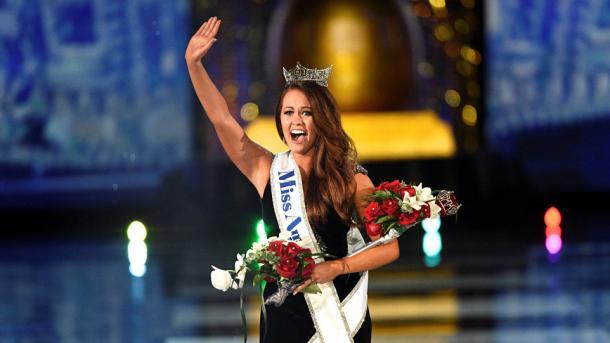 Шатенка изСеверной Дакоты одолела вконкурсе «Мисс Америка»
