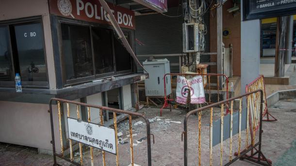 Задержаны подозреваемые— Взрывы вТаиланде