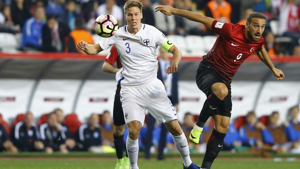 土耳其国家队2比0击败芬兰国家队 | 三昻体育投注
