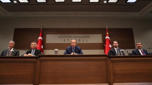 Erdoan: Problemi më i madh i Sirisë është moçali i terrorit që ushqehet nga aleatët | TRT  Shqip