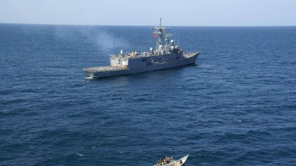 Fregata turke mbërrin në Katar   TRT  Shqip