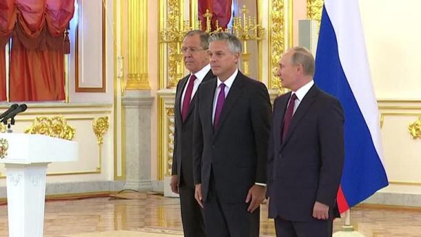 Путин: воснове отношений сСША должны быть принципы равенства