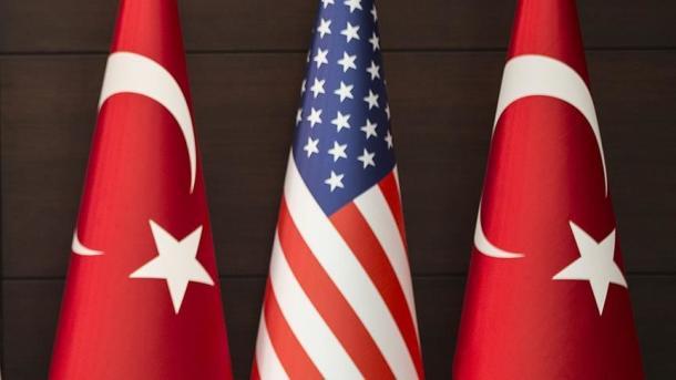 Delegacioni turk takohet me kongresmenët amerikanë | TRT  Shqip