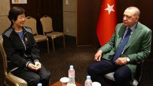 En Corée du Sud, Erdogan reçoit Eunja Kim, la véritable héroïne du film «Ayla»
