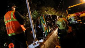 Taiwan, 33 vittime in un incidente automobilistico