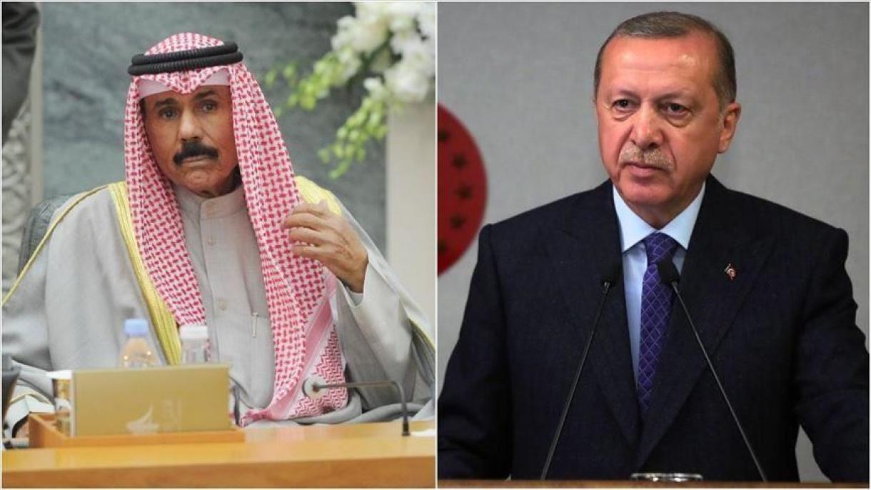 Erdogan s'est entretenu avec le nouvel émir du Koweït