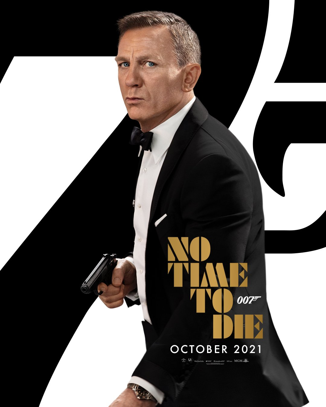 "James Bond, ""No Time to Die"" slitta ancora a causa di pandemia"