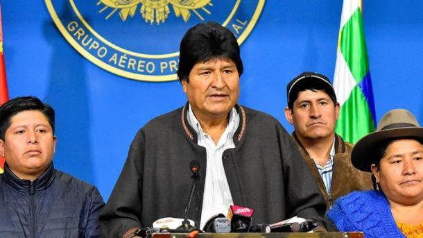 Bolivi – Dorëhiqet Presidenti Evo Morales   TRT  Shqip