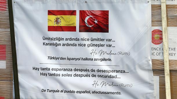 Turqia ndihmon Spanjën dhe Italinë me materiale shëndetësore | TRT  Shqip
