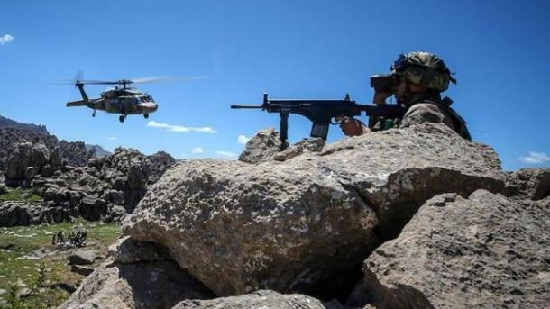 MPB turke filloi operacionin antiterror Kapan-3 Kazan | TRT  Shqip