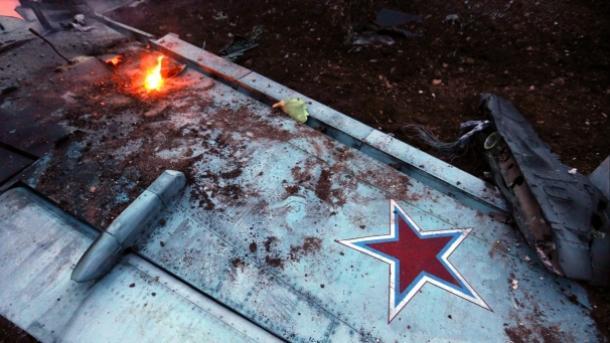 Në Siri rrëzohet një avion luftarak rus | TRT  Shqip