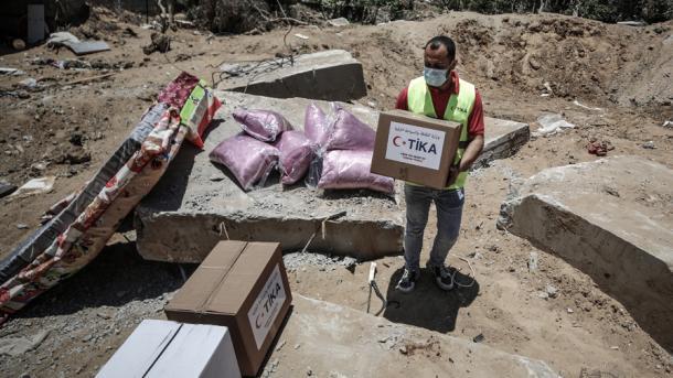 TIKA vazhdon ndihmat në Rripin e Gazës | TRT  Shqip