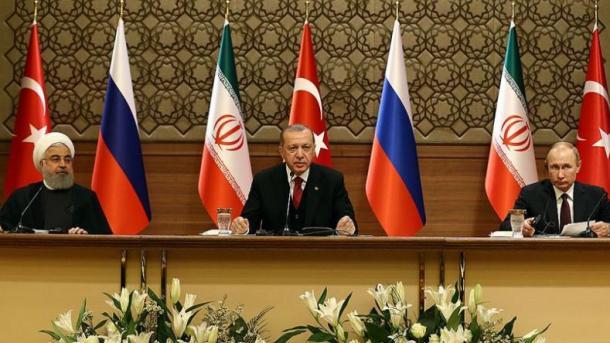 Samiti Turqi-Rusi-Iran: Zgjidhja politike është thelbësore për paqen në Siri   TRT  Shqip