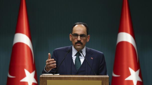 Ibrahim Kalin: Turqia e refuzon planin e Izraelit për aneksimin e Bregut Perëndimor | TRT  Shqip
