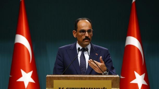 Kalin: Turqia nuk do të heqë dorë nga kauza e saj e drejtë pavarësisht kërcënimeve | TRT  Shqip