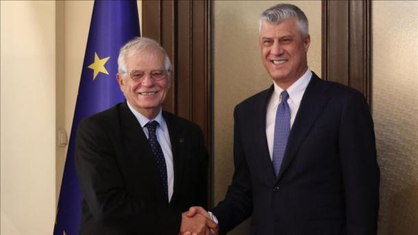 Borrell: Kosova i ka plotësuar kriteret për liberalizimin e vizave   TRT  Shqip