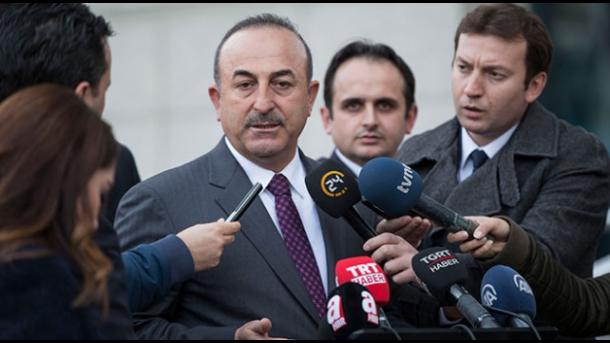 Ministri Çavusoglu dhe Komisoneri Varhelyi bisedojnë mundësitë e bashkëpunimit mes Turqisë dhe BE-së | TRT  Shqip