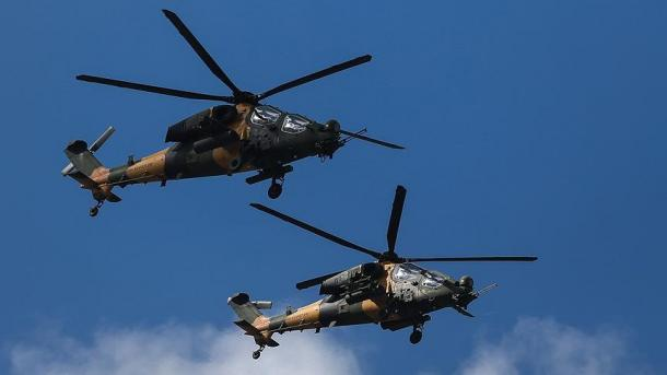 Lufta kundër terrorizmit – Neutralizohen me helikopterë 3 terroristë të PKK-së | TRT  Shqip