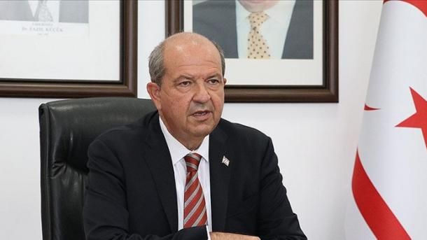 Tatar: Presidenti Erdogan është zëri dhe fuqia e turqve qipriotë | TRT  Shqip