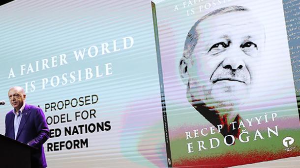 صدر رجب طیب ایردوان کی کتاب کی نیو یارک میں تقریبِ رونمائی thumbnail