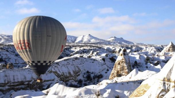 Kapadokya - Udhëtim me balonë në minus 20 gradë | TRT  Shqip