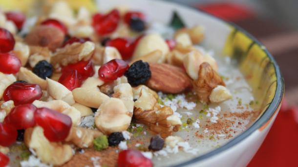 Турецкая десертная каша Ашуре (aşure)
