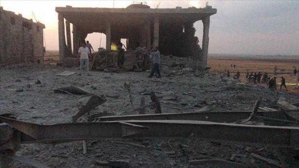 Syrie : 12 civils tués dans une explosion terroriste à Cobanbey
