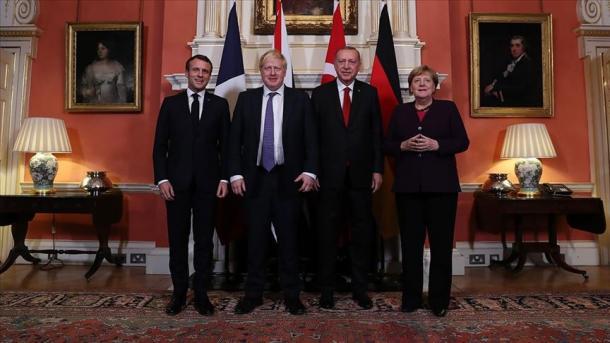 Londra mirëpriti samitin katërpalësh Turqi-Angli-Francë-Gjermani | TRT  Shqip