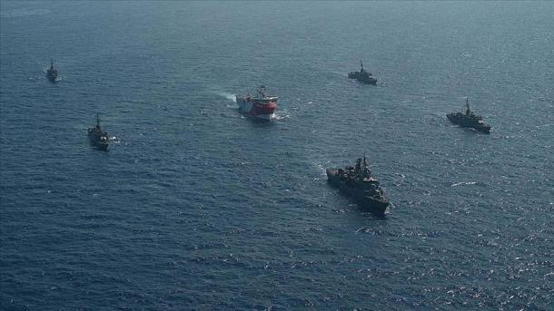 Turqia lëshon një NAVTEX të ri për tre anije në Mesdheun Lindor   TRT  Shqip