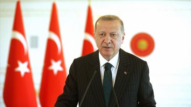 Presidenti Erdogan: Nuk do të hezitojmë të ushtrojmë të drejtat sovrane | TRT  Shqip