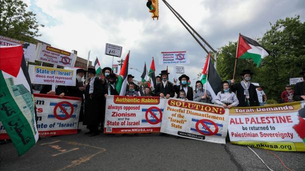 Plani i Izraelit për aneksimin e Bregut Perëndimor u protestua në Amerikë | TRT  Shqip