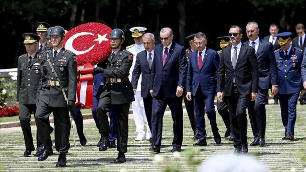 Zhvillohet mbledhja e Këshillit të Lartë Ushtarak | TRT  Shqip