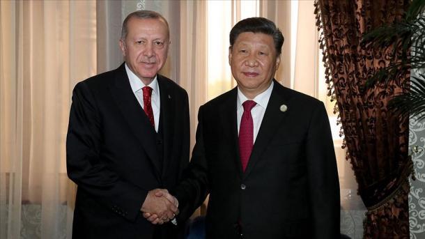 Recep Tayyip Erdogan: ''la Turquie et la Chine partagent une vision commune''