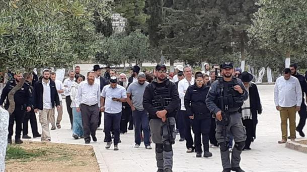 Više od 130 radikalnih Jevreja u pratnji policije ušlo u Al-Aksu