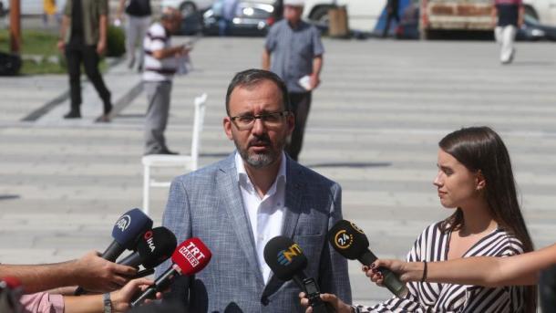 Ministri i Rinisë dhe Sportit dënoi sulmin ndaj ekipit turk të hendbollit për femra në Greqi | TRT  Shqip