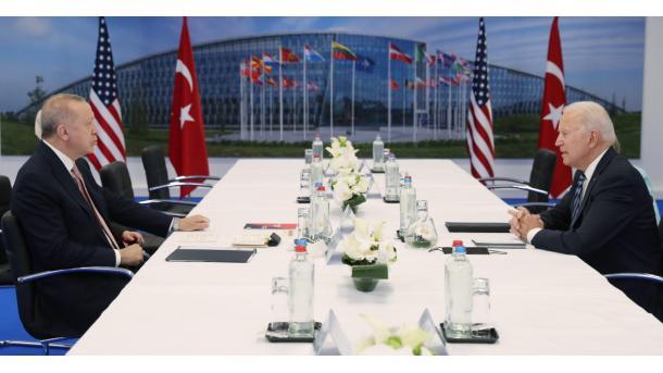 Erdogan: Me Biden patëm një takim shumë produktiv dhe të sinqertë | TRT  Shqip