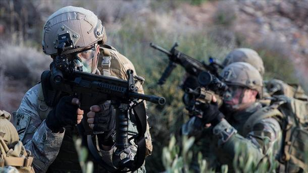 Ushtria turke neutralizoi 17 terroristë të PKK/YPG-së në veri të Sirisë   TRT  Shqip