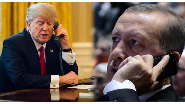 Presidenti Erdogan zhvillon një bisedë telefonike me Presidentin Trump | TRT  Shqip